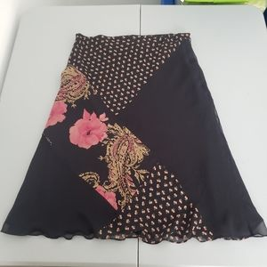 Allison Taylor silk skirt
